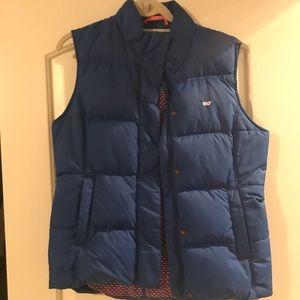 Vineyard vines blue puffy vest